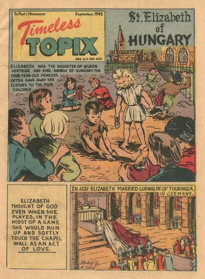 Cover for Timeless Topix (Catechetical Guild Educational Society, 1942 series) #v4#1