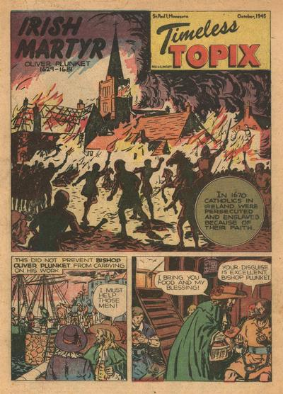 Cover for Timeless Topix (Catechetical Guild Educational Society, 1942 series) #v4#2