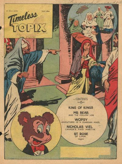 Cover for Timeless Topix (Catechetical Guild Educational Society, 1942 series) #v4#9