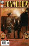 Cover for Jonah Hex (DC, 2006 series) #22