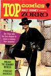 Cover for Top Comics Walt Disney Presents Zorro (Western, 1967 series) #1