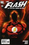 Cover for Flash: The Fastest Man Alive (DC, 2006 series) #13 [Empty Suit Cover]