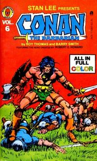 Cover Thumbnail for Conan (Ace Books, 1978 series) #6 (11697)