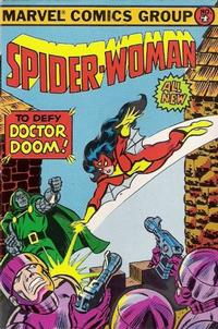 Cover Thumbnail for Bubble Funnies Mini Comics (Amurol Products, 1981 series) #4 [Spider-Woman]