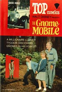 Cover Thumbnail for Top Comics Walt Disney Presents the Gnome-Mobile (Western, 1967 series)
