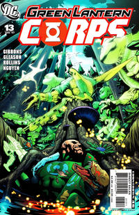 Cover for Green Lantern Corps (DC, 2006 series) #13