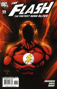 Cover Thumbnail for Flash: The Fastest Man Alive (DC, 2006 series) #13 [Empty Suit Cover]