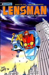 Cover Thumbnail for Lensman (Malibu, 1990 series) #4