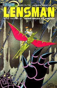 Cover Thumbnail for Lensman (Malibu, 1990 series) #5