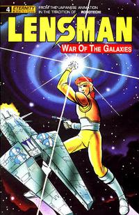 Cover Thumbnail for Lensman: War of the Galaxies (Malibu, 1990 series) #4