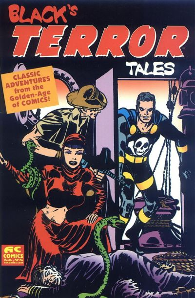 Cover for Black's Terror Tales (AC, 2003 series) #1