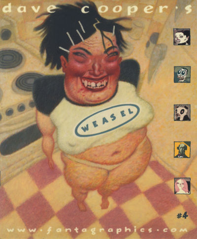 Cover for Weasel (Fantagraphics, 1999 series) #4