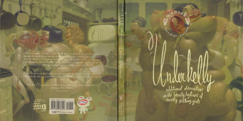 Cover for Weasel (Fantagraphics, 1999 series) #7 - Underbelly