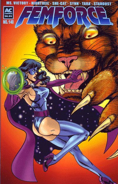Cover for FemForce (AC, 1985 series) #140