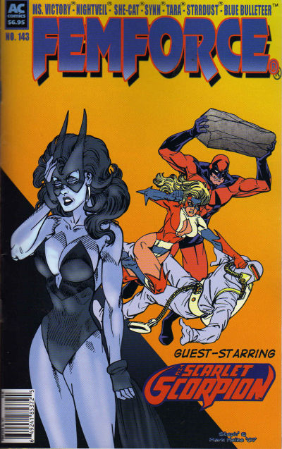 Cover for FemForce (AC, 1985 series) #143
