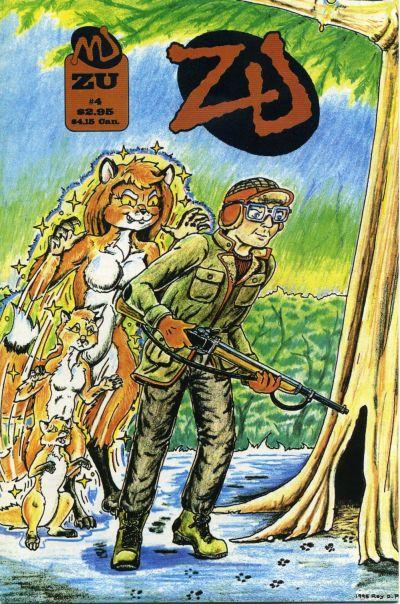 Cover for ZU (MU Press, 1995 series) #4