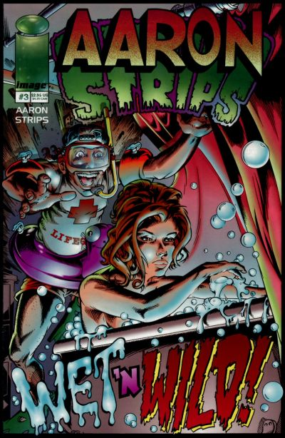 Cover for Aaron Strips (Image, 1997 series) #3