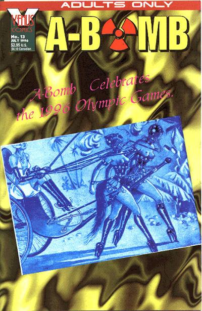 Cover for A-Bomb (Antarctic Press, 1994 series) #13