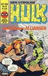 Cover for Hulk (Semic, 1984 series) #6/1985