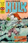 Cover for Hulk (Semic, 1984 series) #9/1985