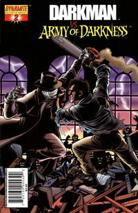 Cover Thumbnail for Darkman vs. The Army of Darkness (Dynamite Entertainment, 2006 series) #2 [George Pérez Cover]