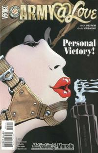 Cover Thumbnail for Army@Love (DC, 2007 series) #3