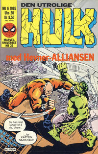 Cover Thumbnail for Hulk (Semic, 1984 series) #6/1985