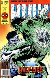 Cover Thumbnail for Hulk (Semic, 1984 series) #5/1990