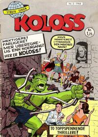 Cover Thumbnail for Koloss (Serieforlaget / Se-Bladene / Stabenfeldt, 1968 series) #5/1968
