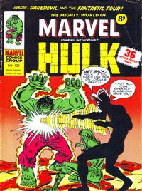 Cover Thumbnail for The Mighty World of Marvel (Marvel UK, 1972 series) #132