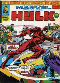 Cover Thumbnail for The Mighty World of Marvel (Marvel UK, 1972 series) #222
