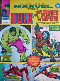 Cover Thumbnail for The Mighty World of Marvel (Marvel UK, 1972 series) #231
