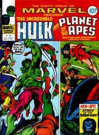 Cover Thumbnail for The Mighty World of Marvel (Marvel UK, 1972 series) #246