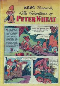Cover Thumbnail for The Adventures of Peter Wheat (Peter Wheat Bread and Bakers Associates, 1948 series) #[1]
