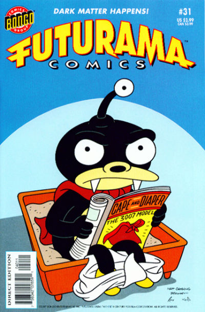 Cover for Bongo Comics Presents Futurama Comics (Bongo, 2000 series) #31 [Direct Edition]