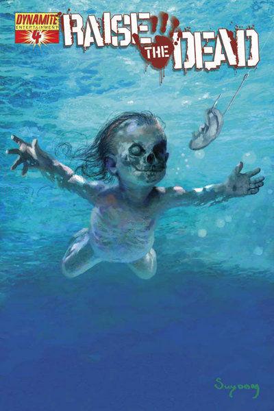 Cover for Raise the Dead (Dynamite Entertainment, 2007 series) #4 [Arthur Suydam cover]