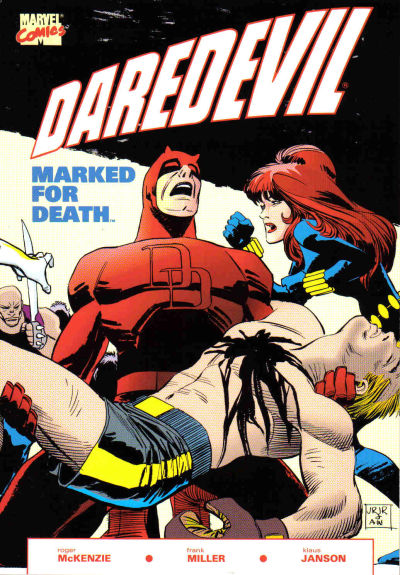 Cover for Daredevil: Marked for Death (Marvel, 1990 series)
