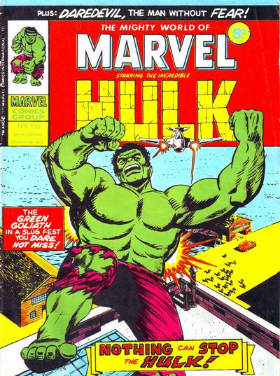 Cover for The Mighty World of Marvel (Marvel UK, 1972 series) #130
