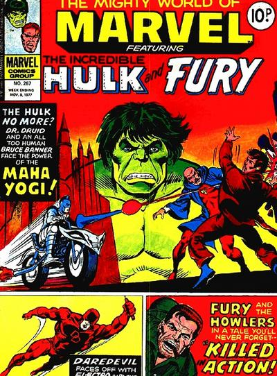 Cover for The Mighty World of Marvel (Marvel UK, 1972 series) #267