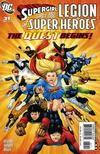 Cover for Supergirl and the Legion of Super-Heroes (DC, 2006 series) #31