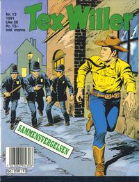 Cover Thumbnail for Tex Willer (Semic, 1977 series) #13/1991