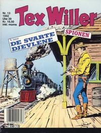 Cover Thumbnail for Tex Willer (Semic, 1977 series) #13/1992