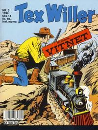 Cover Thumbnail for Tex Willer (Semic, 1977 series) #5/1994