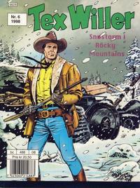 Cover Thumbnail for Tex Willer (Hjemmet / Egmont, 1998 series) #6/1998