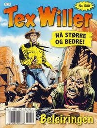 Cover Thumbnail for Tex Willer (Hjemmet / Egmont, 1998 series) #500