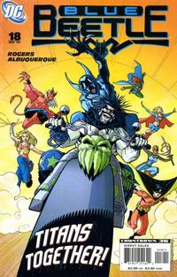 Cover Thumbnail for The Blue Beetle (DC, 2006 series) #18