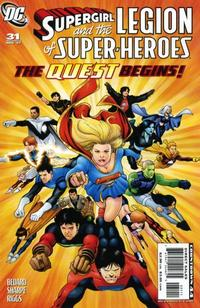 Cover Thumbnail for Supergirl and the Legion of Super-Heroes (DC, 2006 series) #31
