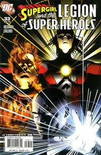 Cover Thumbnail for Supergirl and the Legion of Super-Heroes (DC, 2006 series) #33