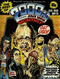 Cover Thumbnail for The Best of 2000 AD Monthly (IPC, 1985 series) #11