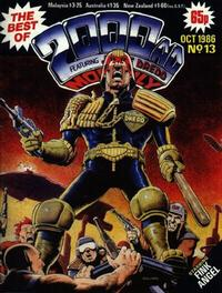 Cover Thumbnail for The Best of 2000 AD Monthly (IPC, 1985 series) #13